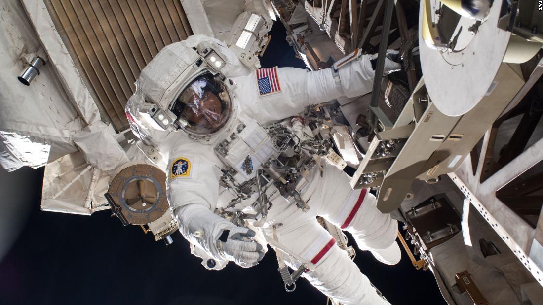 NASA astronauts prepare for two spacewalks thumbnail