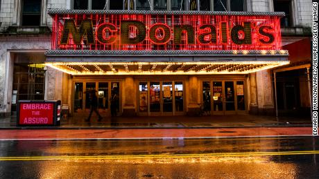 McDonald's is closing its iconic Times Square location