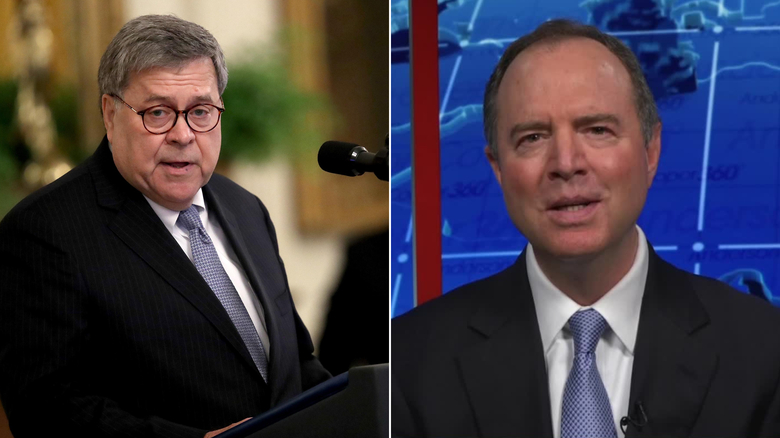 Schiff accuses Barr of lying over election intelligence