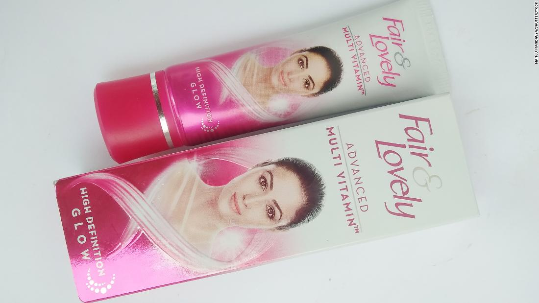 'Fair and Lovely' skin-lightening cream removed in India