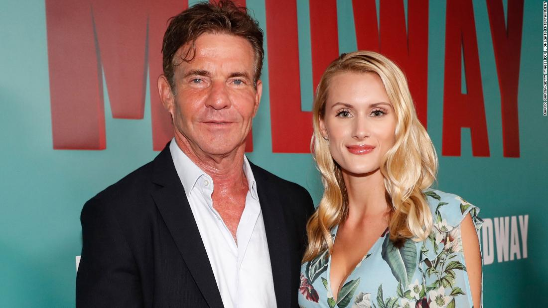 Dennis Quaid says 39-year age difference with new wife 'just doesn't come  up' - CNN