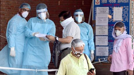 As Delhi becomes India's coronavirus capital, its hospitals are struggling to cope