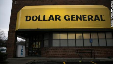 The Dayton Police Department says in 2017 it recommended Dollar General keep its windows clear as a security precaution. This store on Dayton's Salem Avenue, which was the site of four robberies between 2018 and 2020, had its windows covered as of March 2020.