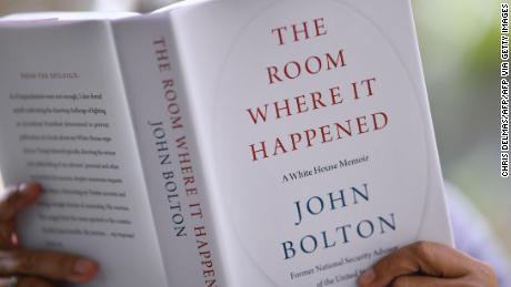 A former NSC official accused the White House of trying to block the Bolton books to satisfy Trump.