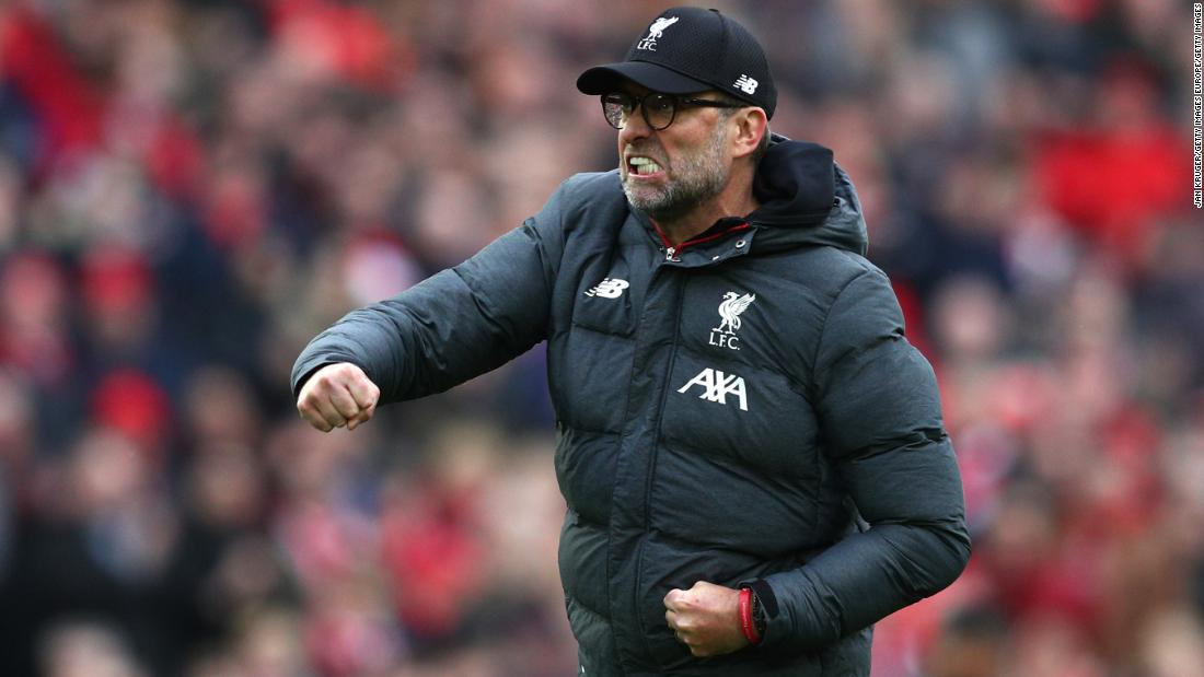 Liverpool eyes Premier League points record after title win