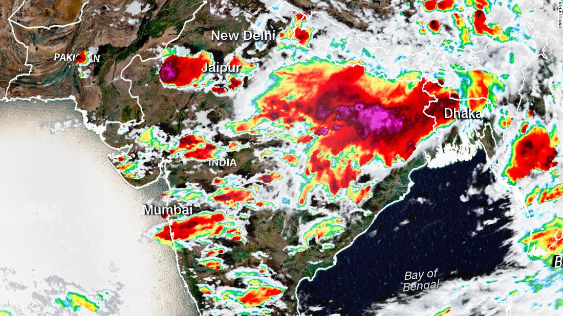 At least 83 people killed during lightning strikes across Indian state