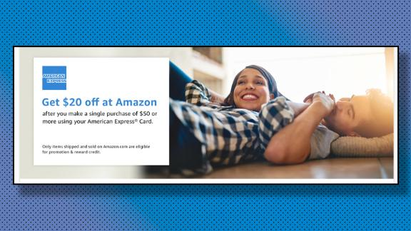 Get $10 off at Amazon when using an American Express card  CNN