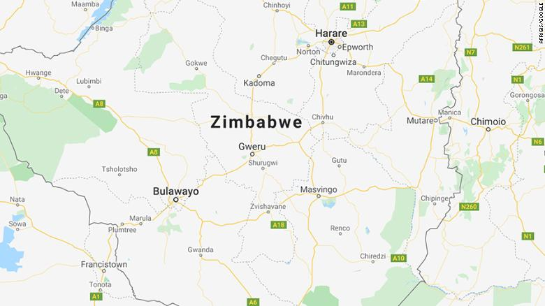 Gweru na província de Midland, no Zimbábue.
