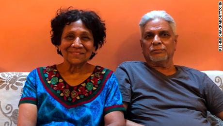Asawari Kulkarni and Anil Yardi, both aged 68, started dating last year and are now living together.