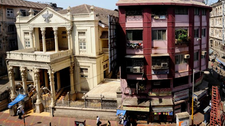 A Parsi temple in Mumbai on March 12, 2012.