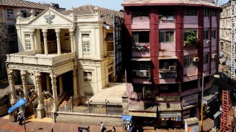 Un temple Parsi à Mumbai le 12 mars 2012.