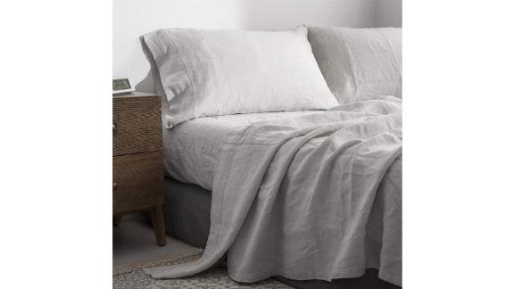 Simple&Opulence 100% Linen Sheet Set