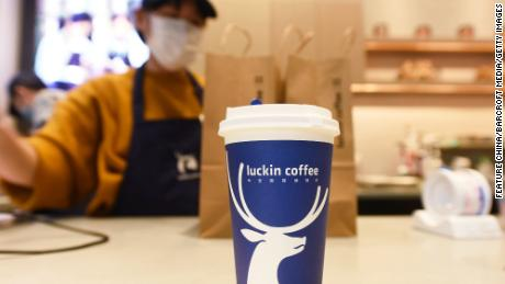 Chinese coffee company Luckin will be delisted after defrauding investors