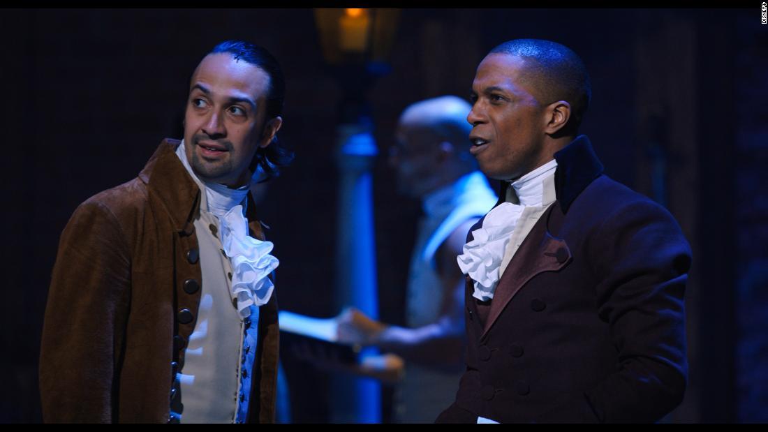 Lin-Manuel Miranda đáp lại lời chỉ trích nô lệ của 'Hamilton'
