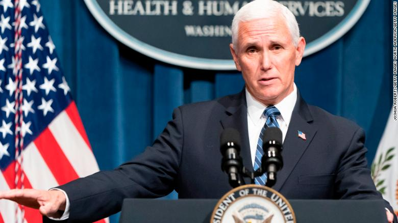 Some doctors met with Pence after their group's video was removed for misleading info