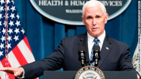 'Things changed': Pence pressed over Covid claims