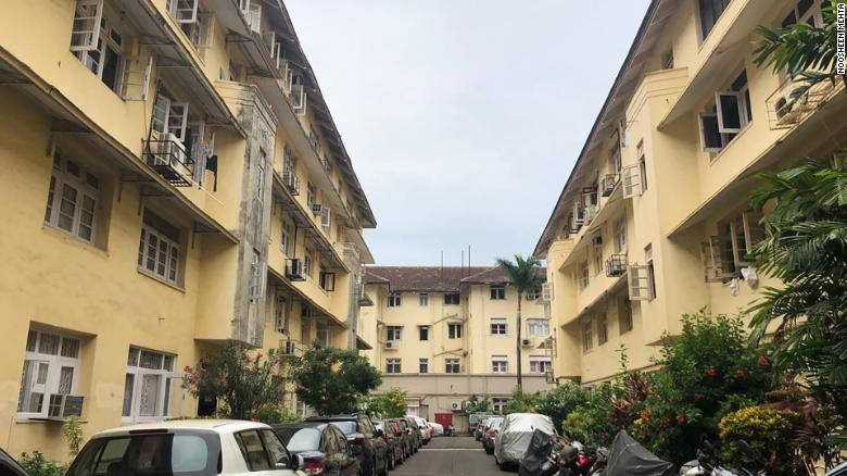 Cusrow Baug Colony, one of the oldest all-Parsi settlements in Mumbai