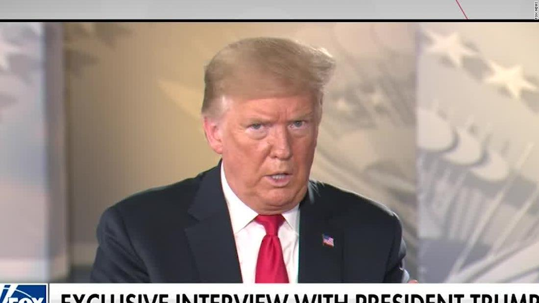 Trump Was Asked About A Second Term Hear His Response Cnn Video