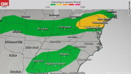 Severe Storms Saturday