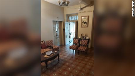 Un intérieur d'une maison Parsi typique.