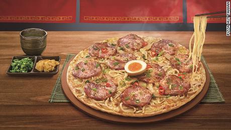 Ramen Pizza Has Pizza Hut Taiwan Gone Too Far Cnn Travel