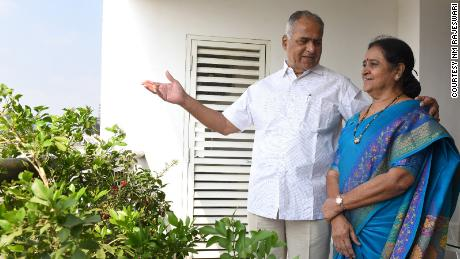 NM Rajeswari, 72, and B Damodar Rao, 74, met eight years ago when Rao signed up at her dating agency.