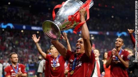 The defender played an instrumental role in helping the club to win the UEFA Champions League in 2019