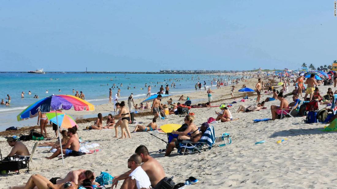 Miami's famous beaches closing for Fourth of July amid coronavirus concerns - CNN