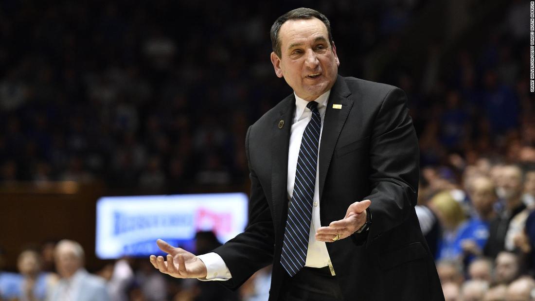 Duke basketball head coach Mike Krzyzewski to retire in 2022, according to reports