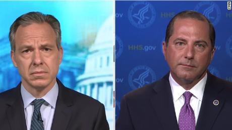 'Window is closing' for US to get coronavirus under control, Trump's HHS secretary warns