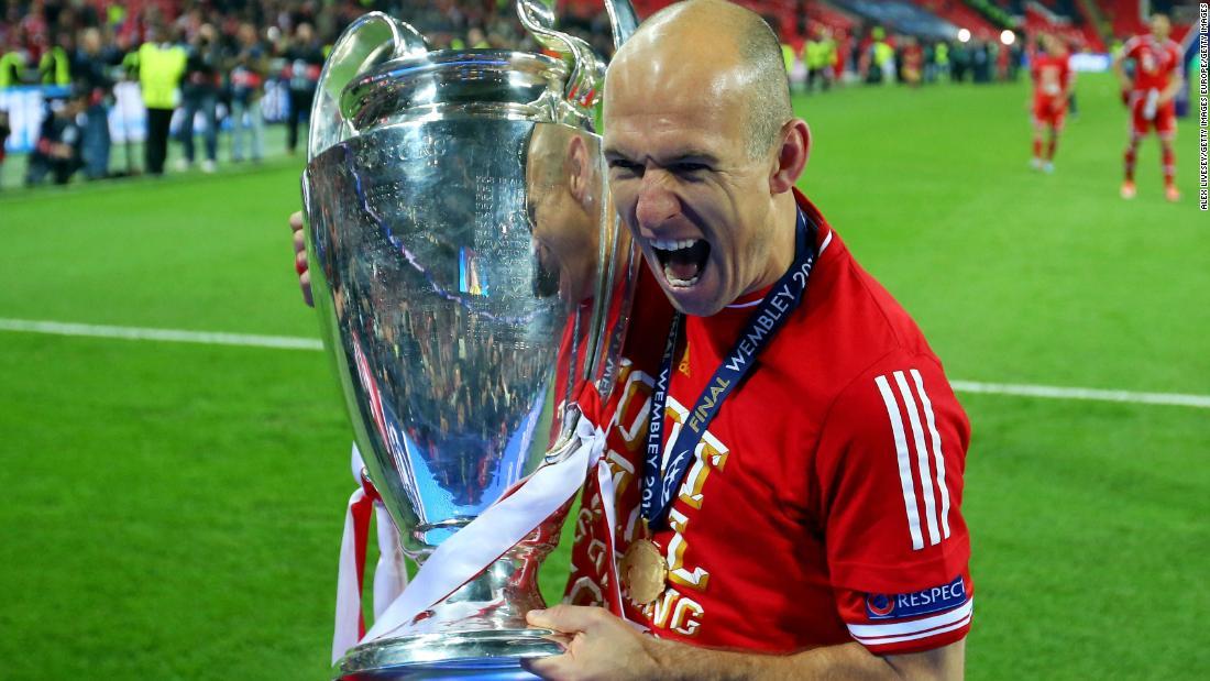 Arjen Robben tornerà con il primo club Groningen
