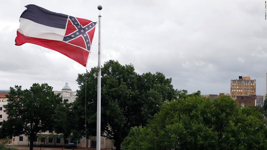 Mississippi governor indicators invoice to retire flag with Confederate emblem - CNN thumbnail