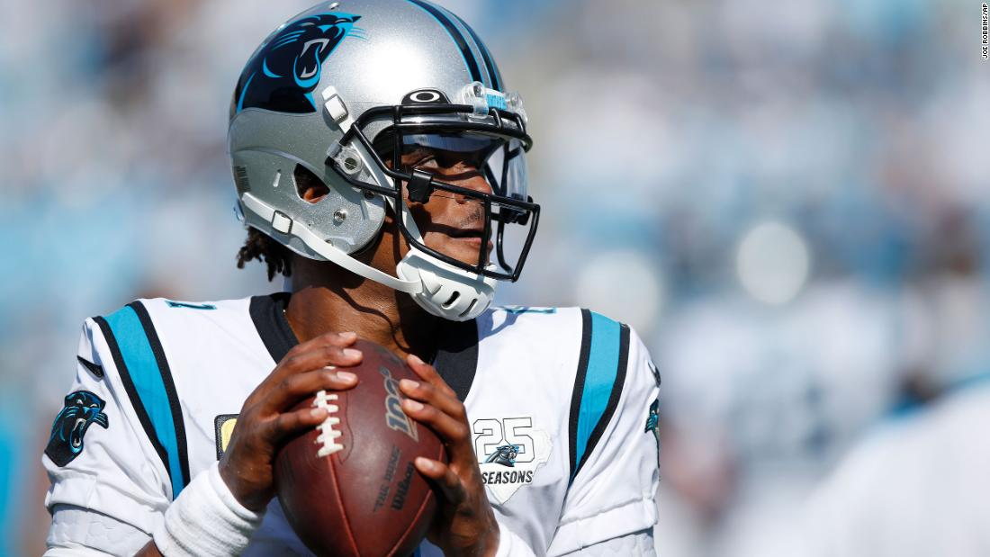 Former NFL MVP Cam Newton has signed with the New England Patriots - CNN thumbnail