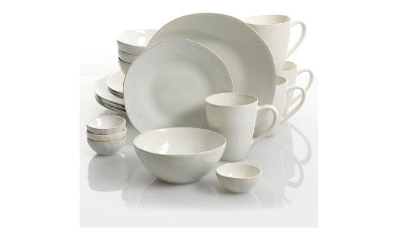 Cravings by Chrissy Teigen Tunisian Mist 20-piece Dinnerware Set
