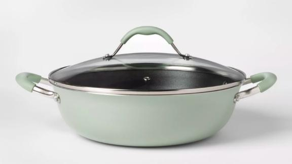 Cravings by Chrissy Teigen 5-qt Aluminum Non-Stick Everyday Pan with Lid