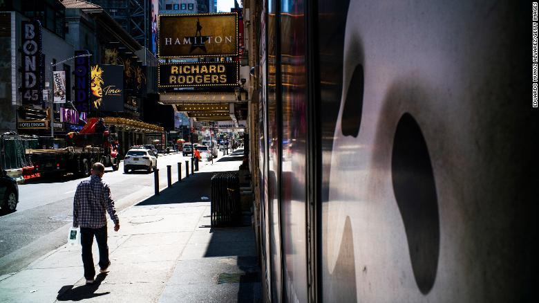 Broadway will stay dark through May 30, 2021