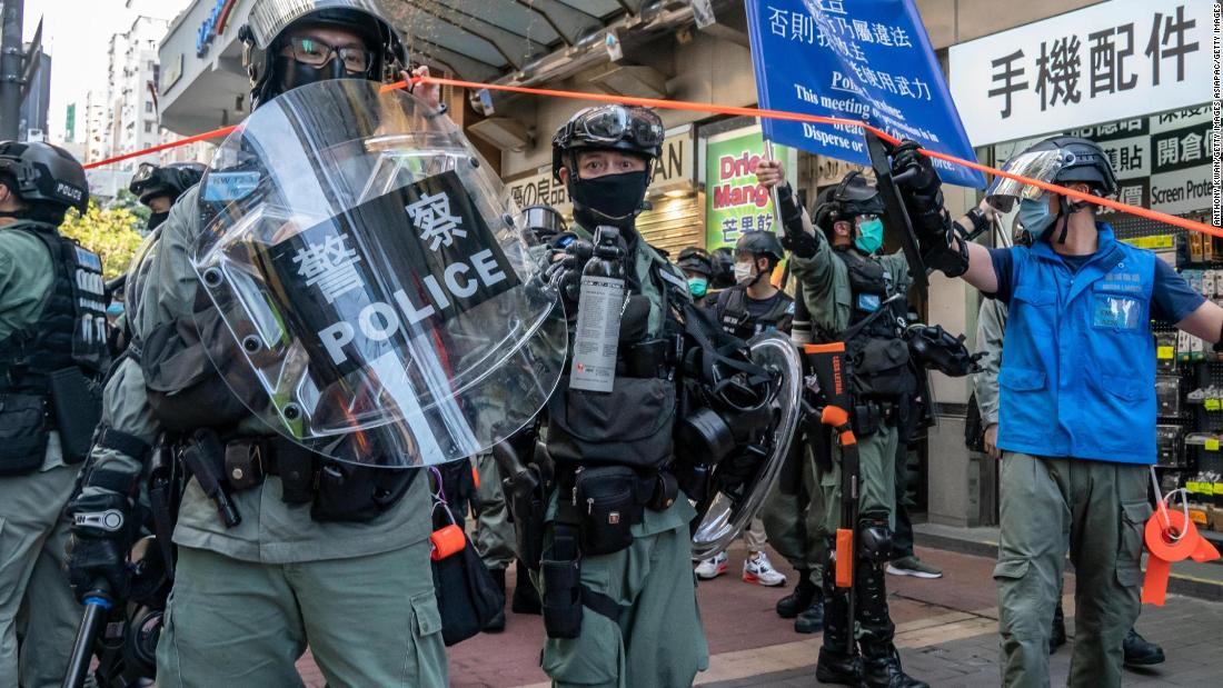 Hong Kong sta per essere regolata da una legge che la maggior parte dei residenti non ha mai visto. E sta già avendo un effetto