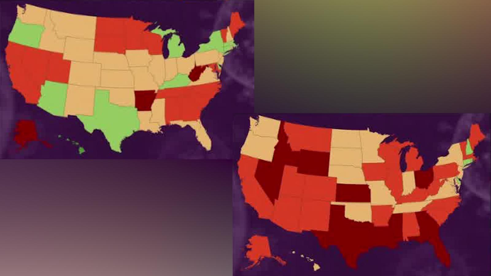 Us Coronavirus California And Florida Are Charting Different Paths As Cases Spike Cnn
