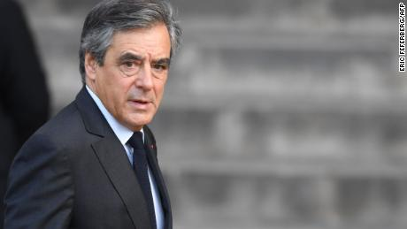 Former French Prime Minister François Fillon sentenced to five years