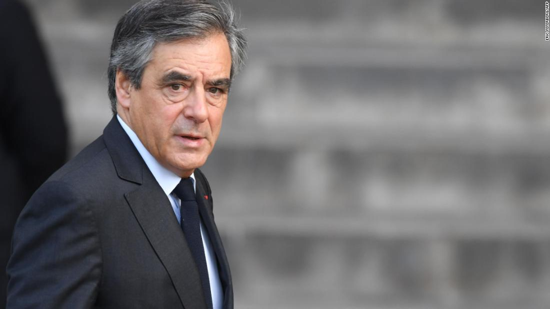 Former French Prime Minister François Fillon sentenced to five years in jail