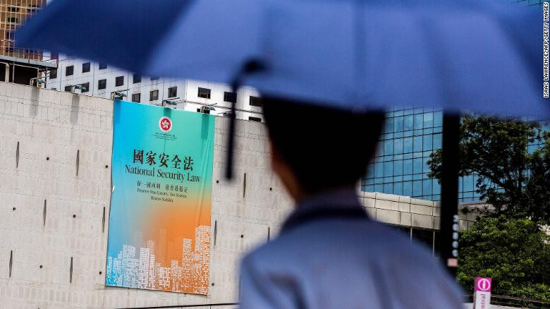 Hong Kong is about to be governed by a law most residents have never seen. And it's already having an effect