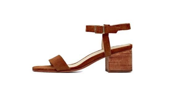 Lucia Block Heel Sandal