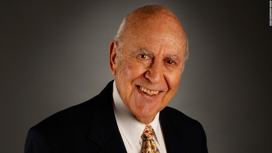 Carl Reiner poses for a portrait during the 2007 American Film Institute festival in Hollywood.