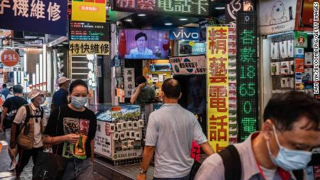Security law could hurt Hong Kong as a global business hub