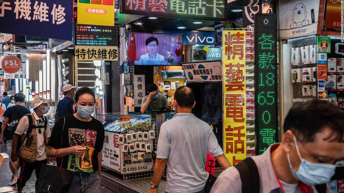 Security law could hurt Hong Kong as global business hub