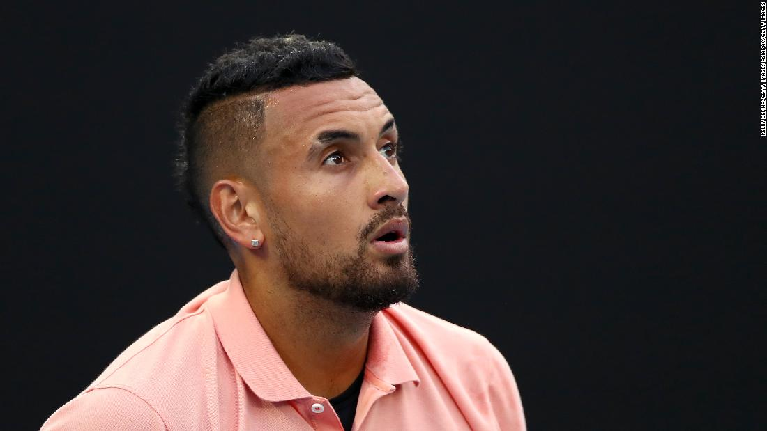 Kyrgios calls Becker a 'doughnut' after being labeled a 'rat' by tennis great