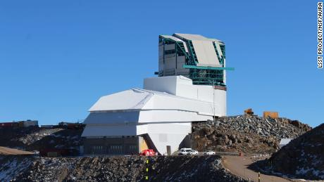 Construction on the Rubin Observatory was halted by the Covid-19 pandemic. Regular inspections of the facilities and equipment on Cerro Pachón continue. This photo is from an inspection conducted on June 9th, 2020.