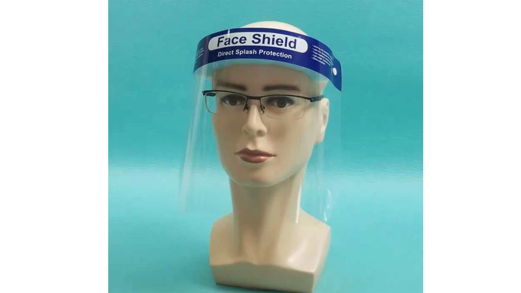 Four 4 Medical Face ShieldsSafety Clear Protector Anti-SplashMade In The USA