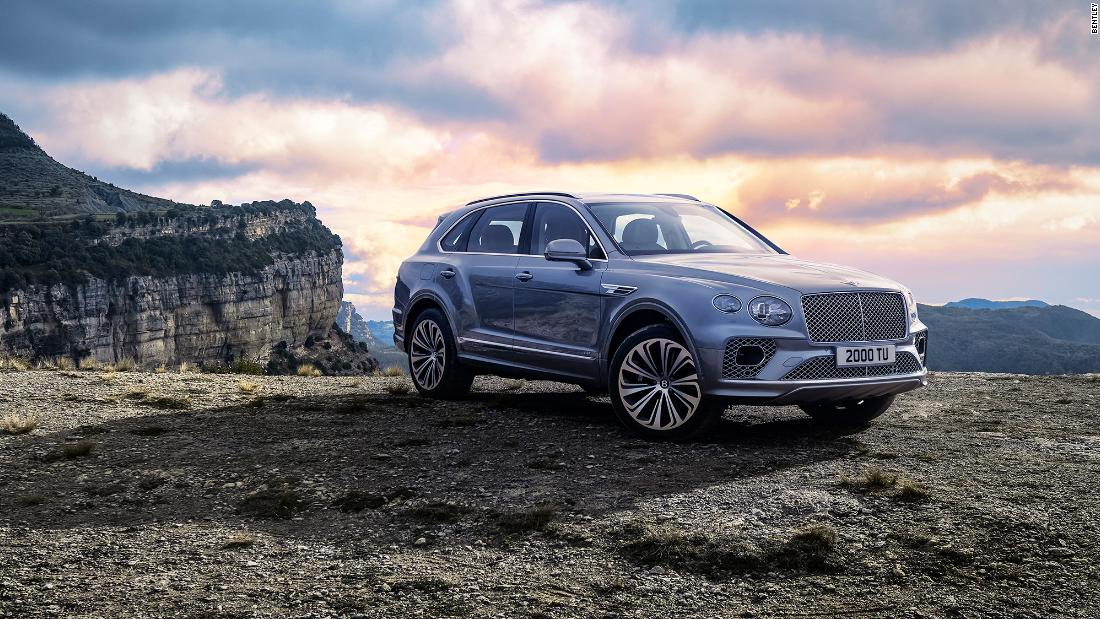 With its new super fast SUV, Bentley completes a major makeover