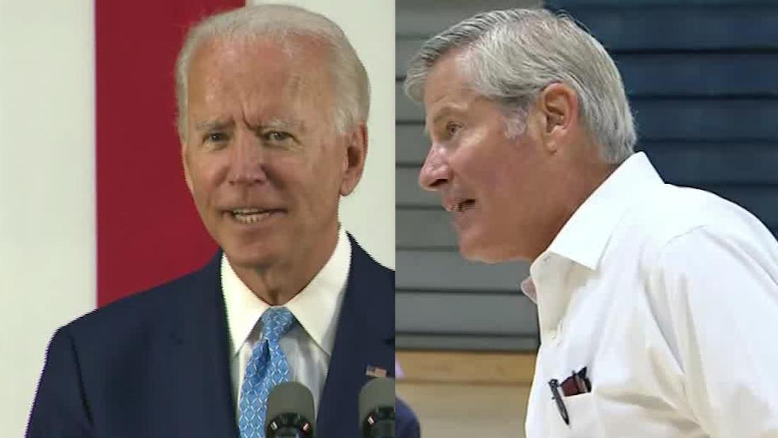 Fox News reporter asks Biden about his cognitive ability